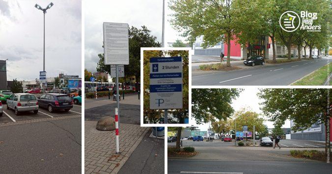 Beschilderung in Braunschweig der fair parken GmbH aus Düsseldorf