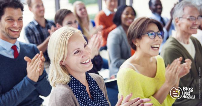 typisches Kunden- / Partner-Seminar Network Marketing