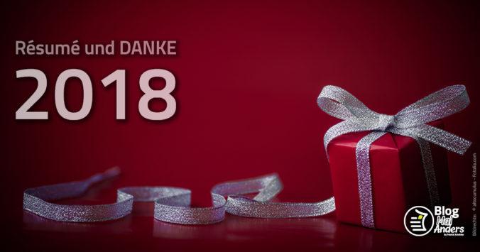 Ein Jahr voller Geschenke - ein Résumé 2018